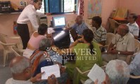 Computer Training Workshop - Senior Citizens at Mango Garden, Belapur
