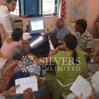 Computer Training Workshop - Senior Citizens at Mango Garden, Belapur